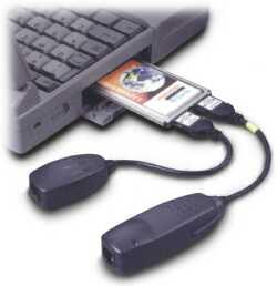 D-Link DMF-560TX, PCMCIA, RJ-45 10/100, modem V.90