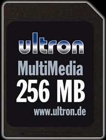 Ultron MultiMedia Card (MMC)  256MB (18438)