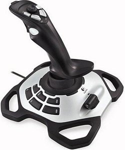 Logitech Extreme 3D Pro Twist Handle Joystick, USB (PC) (942-000005)