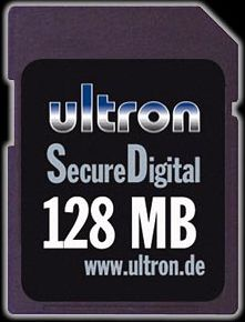 Ultron SD Card  128MB (5135)