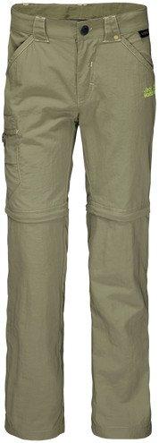 Jack Wolfskin Safari Zip Off pant long khaki (Junior) (1605871-4288)