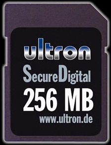 Ultron SD Card  256MB (3582)