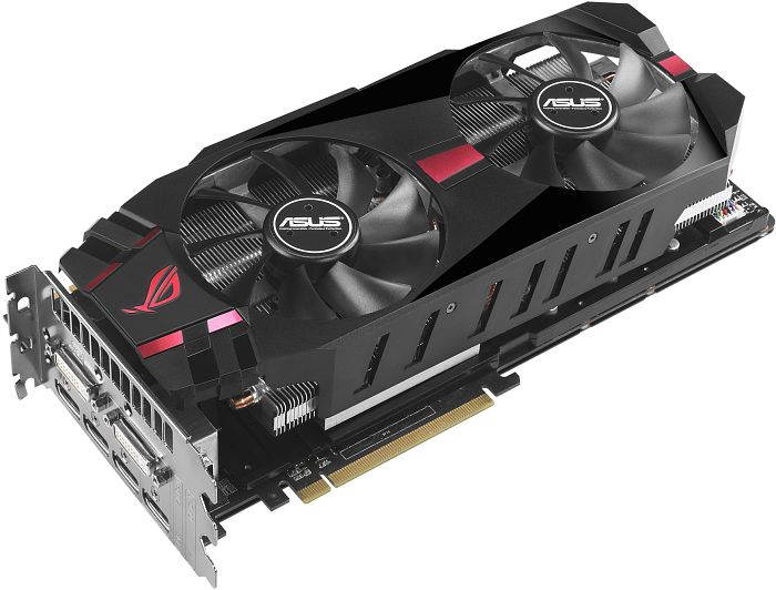 ASUS ROG matrix-HD7970-P-3GD5, Radeon HD 7970 GHz Edition, 3GB GDDR5, 2x DVI, 4x DisplayPort (90YV02P0-M0NA00)