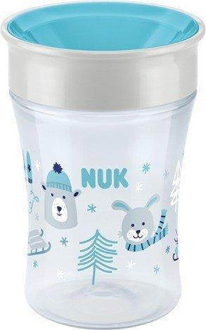 NUK Magic Cup Winter Wonderland Trinkbecher blau, 230ml (10255365)