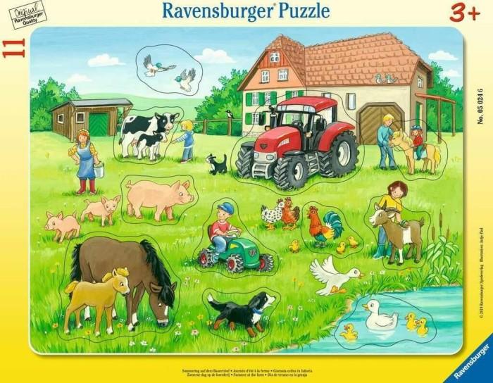 Ravensburger Puzzle Sommertag auf dem Bauernhof (05024)