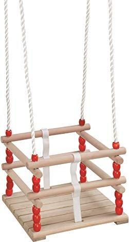 Hudora wooden baby swing (72113)
