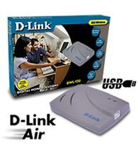 D-Link DWL-120 Air Wireless Adapter, 11Mbps, USB 1.1