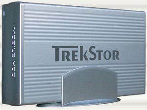 "TrekStor HDD external 3.5"" 250GB, USB 2.0"