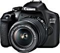 Canon EOS 2000D mit Objektiv EF-S 18-55mm 3.5-5.6 IS II (2728C003)