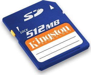 Kingston SD Card  512MB (SD/512)