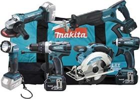 Makita DLX6011 Combo Kit Akku-Maschinenset inkl. Tasche + 3 Akkus 3.0Ah