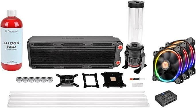 Thermaltake Pacific RL360 D5 RGB Hard Tube Water Cooling Kit (CL-W129-CA12SW-A)