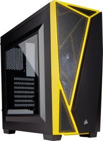 Corsair carbide Series SPEC-04 black/yellow, acrylic window (CC-9011108-WW)