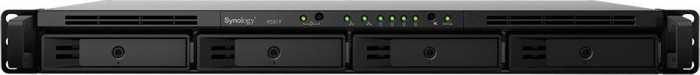 Synology RackStation RS819 2TB, 2GB RAM, 2x Gb LAN, 1HE
