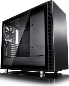 Fractal Design Define R6 USB-C Blackout TG, Glasfenster, schallgedämmt (FD-CA-DEF-R6C-BKO-TGL)