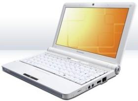 Lenovo IdeaPad S10e weiß, 1GB RAM, 160GB HDD, 12 Monate Herstellergarantie (NS84XGE)