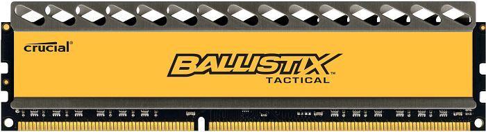 Crucial Ballistix Tactical DIMM 4GB, DDR3-1600, CL8-8-8-24 (BLT4G3D1608DT1TX0CEU)