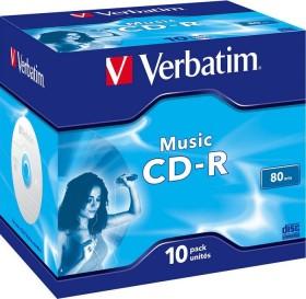 Verbatim Music CD-R 80min/700MB 16x, 10er Jewelcase (43365)