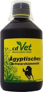 cdVet Egyptian black cumin oil cold pressed 500ml dietary supplement