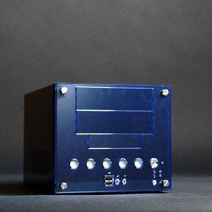 Casetronic CheckerCube 2215, 200W SFX12V, Mini-ITX (różne kolory)
