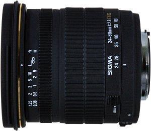 Sigma AF 24-60mm 2.8 EX DG Asp IF dla Sony/Konica Minolta czarny (547934)