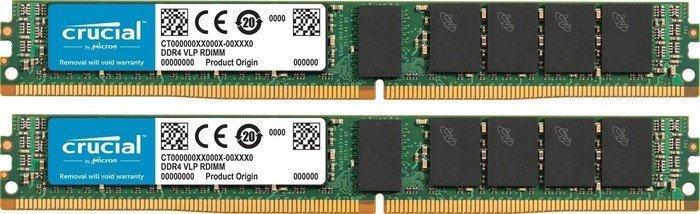 Crucial VLP RDIMM kit 32GB, DDR4-2133, CL15, reg ECC (CT2K16G4VFD4213)