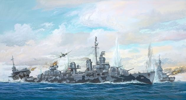 Revell Fletcher Class Destroyer Platinum (05150)