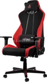 Nitro Concepts S300 Inferno Red Bürostuhl, schwarz/rot (NC-S300-BR)