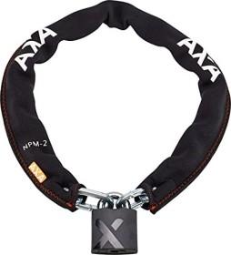 AXA Kettenschloss Promoto 2 100//9 Länge 100cm Stärke 9mm schwarz Fahrrad