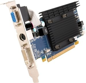 Sapphire Radeon HD 4350 Passiv low profile,  512MB DDR2, VGA, DVI, TV-out, lite retail (11142-00-20R)