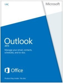 Microsoft Outlook 2013, PKC (deutsch) (PC) (543-05752)