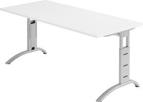 Hammerbacher Ergonomic Plus F-Serie FS19/W, weiß, Schreibtisch