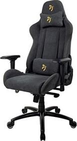 Arozzi Verona Signature Soft Fabric Gamingstuhl, schwarz/gold (VERONA-SIG-SFB-GD)