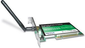 TRENDnet wireless PCI adapter, 22Mbit (TEW-303PI)