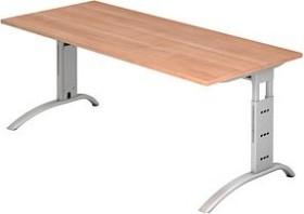 Hammerbacher Ergonomic Plus F-Serie FS19/N, Nussbaum, Schreibtisch