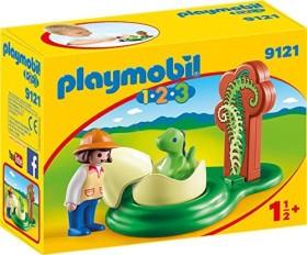 playmobil 1.2.3 - Girl with Dino Egg (9121)