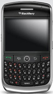 Blackberry 8900 Curve -- The RIM and BlackBerry families of related marks, images and symbols are the exclusive properties of, and trademarks of, Research In Motion – used by permission.