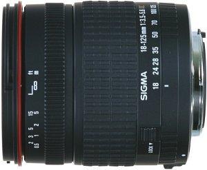 Sigma AF 18-125mm 3.5-5.6 DC Asp IF für Pentax K schwarz (799945)