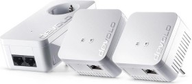 devolo dLAN 550 WiFi Network Kit, 3er-Bundle (9624)