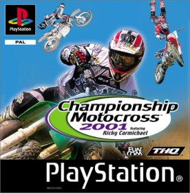 Championship Motocross 2001 feat. Ricky Carmichael (PS1)