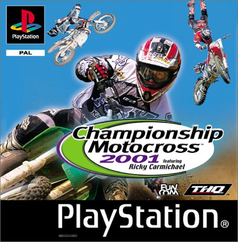 Championship Motocross 2001 feat. Ricky Carmichael (PS1) -- via Amazon Partnerprogramm
