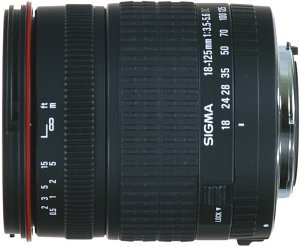 Sigma AF 18-125mm 3.5-5.6 DC Asp IF for Sigma black (799940)