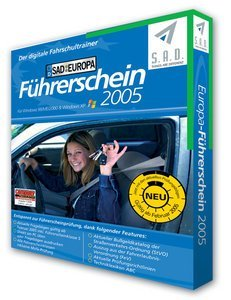 S.A.D.: Europe driver licence 2005 (German) (PC)