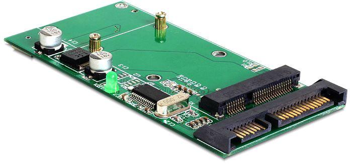 DeLOCK mini USB 2.0/SATA on 1x mSATA (62493)