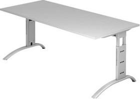 Hammerbacher Ergonomic Plus F-Serie FS19/5, grau, Schreibtisch