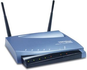 TRENDnet wireless-G Router 54Mbit (TEW-411BRP)