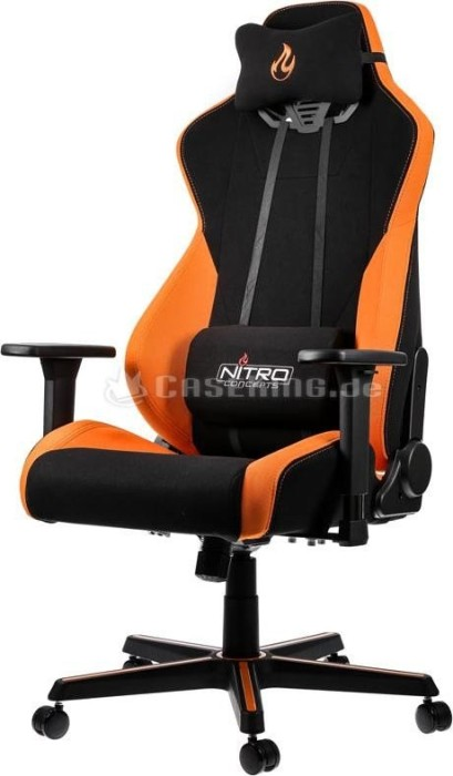Nitro Concepts S300 Horizon Orange Bürostuhl, schwarz/orange (NC-S300-BO)