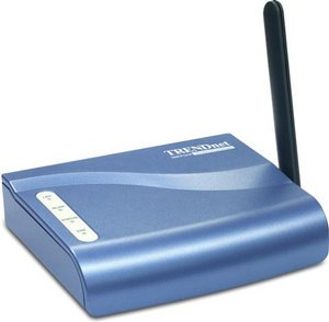 TRENDnet TEW-P1U1P Wireless Print Server 11MBit