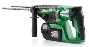 Hitachi DH25DAL Akku-Bohrhammer inkl. Koffer + 2 Akkus 3.0Ah