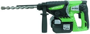 Hitachi DH25DL Akku-Bohrhammer inkl. Koffer + 2 Akkus 3.0Ah